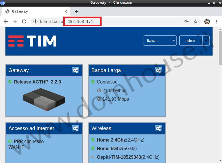 Configurazione iniziale di Home Assistant Modem